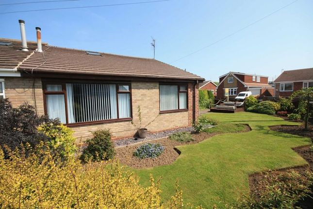 Thumbnail Semi-detached house for sale in Cromwell Avenue, Loftus, Saltburn-By-The-Sea