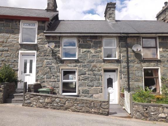Thumbnail Terraced house for sale in Fron Galed, Trawsfynydd, Blaenau Ffestiniog, Gwynedd