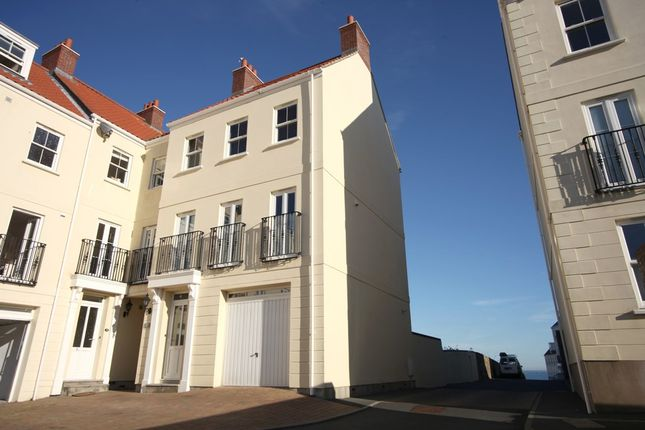 Thumbnail End terrace house to rent in Domaine De Beauport, St. Peter Port, Guernsey