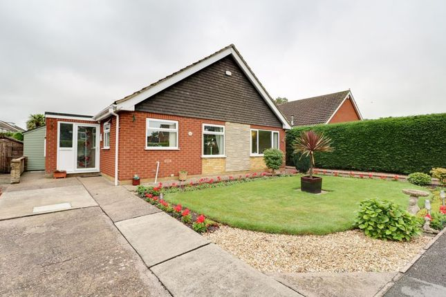 Thumbnail Detached bungalow for sale in Brigg Road, Messingham, Scunthorpe