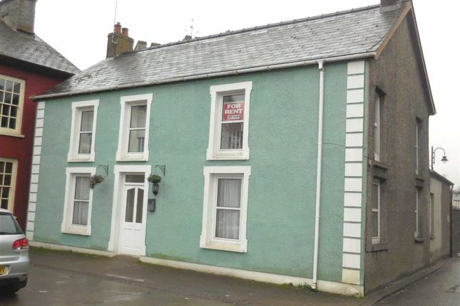 Thumbnail Flat to rent in The Square, Tregaron