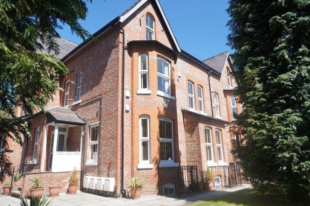 Thumbnail Flat to rent in Old Lansdowne Road, West Didsbury