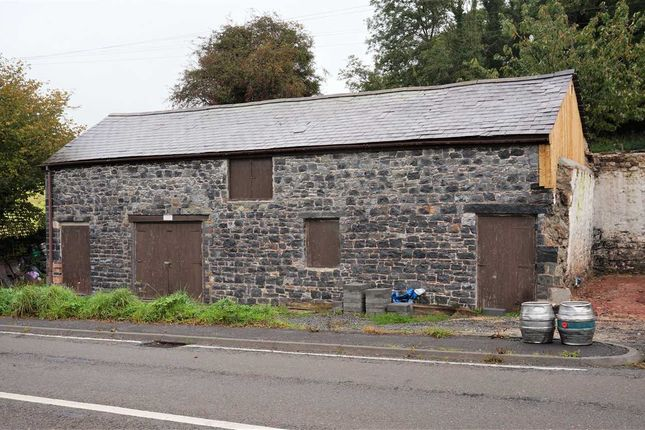 Thumbnail Land for sale in Barn Adjacent To Mansel Arms, Porthyrhyd, Carmarthen