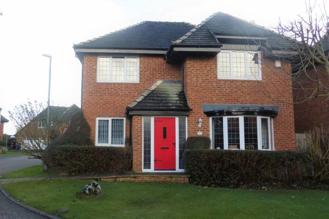 Thumbnail Detached house for sale in Orchard Place, Much Hoole, Preston