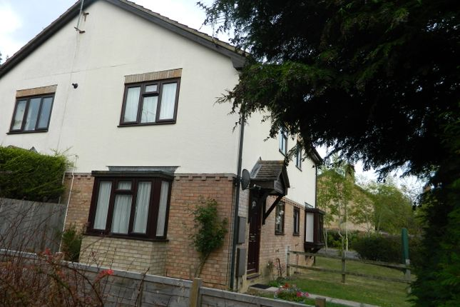 Thumbnail End terrace house to rent in Petersfield Close, Basingstoke