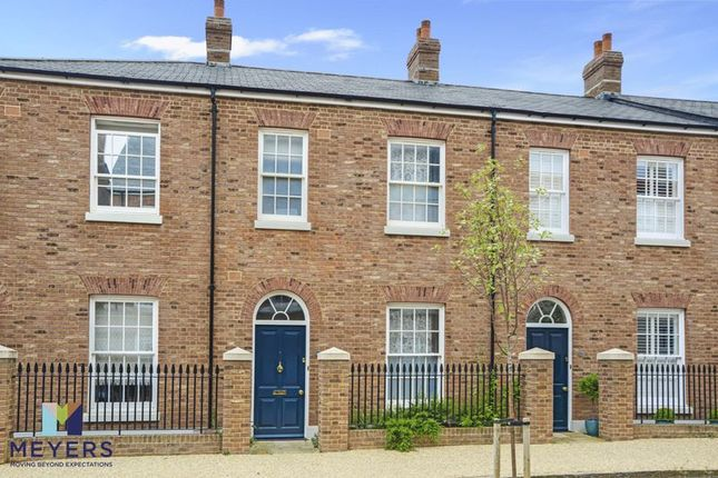 Thumbnail Terraced house for sale in Liscombe Street, Poundbury