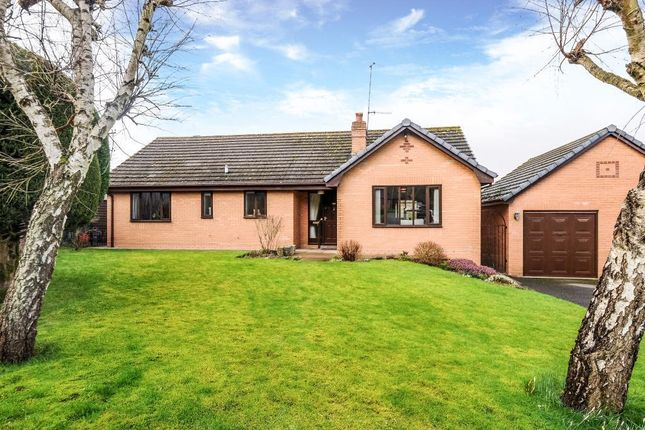 Thumbnail Detached bungalow for sale in Jackets Close, Knighton
