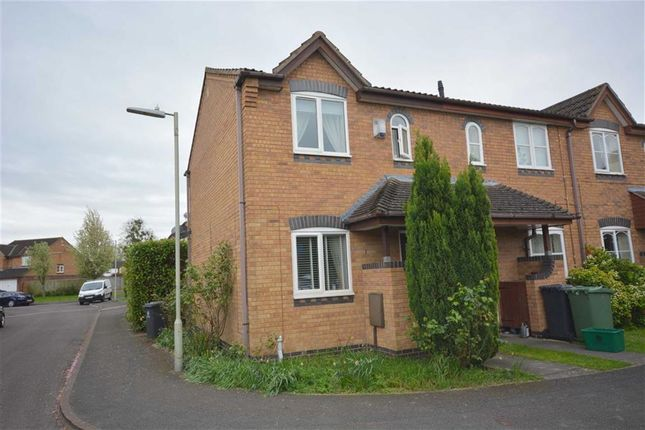 Thumbnail End terrace house to rent in Magnolia Walk, Quedgeley, Gloucester