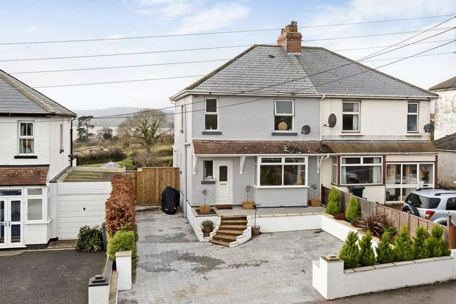 Thumbnail Semi-detached house for sale in Victoria, Exeter Road, Exmouth
