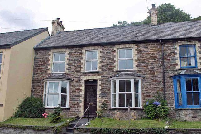 Thumbnail Terraced house for sale in Taliesin, Machynlleth