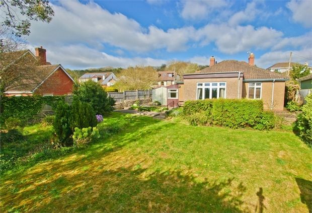 Thumbnail Detached bungalow for sale in Wookey Hole Road, Wells