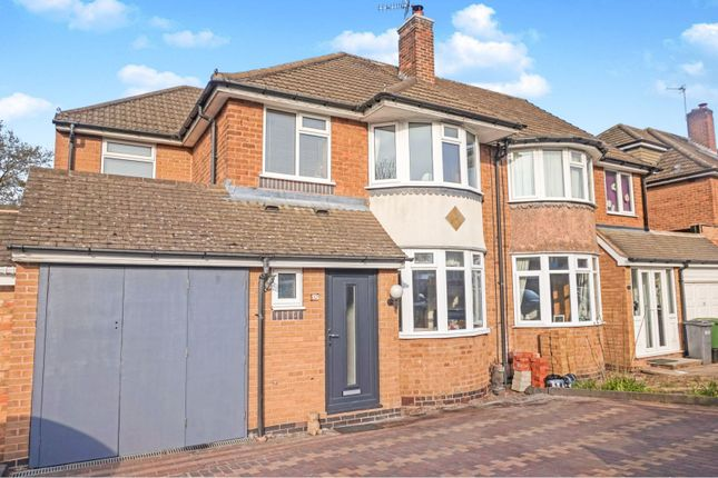 4 bed semi-detached house for sale in Bramcote Drive, Solihull B91