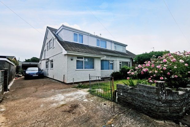 3 bed bungalow to rent in Snowdon Drive, Swansea SA5