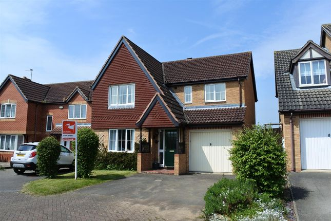Thumbnail Detached house for sale in Brendon Close, Gonerby Hill Foot, Grantham