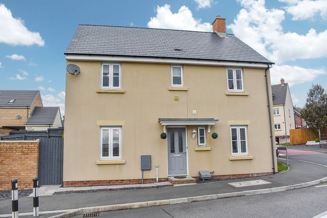 Thumbnail Detached house for sale in Ffordd Y Draen, Coity, Bridgend .