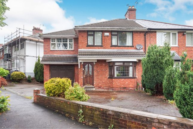 Thumbnail Semi-detached house for sale in Hollycroft Road, Handsworth