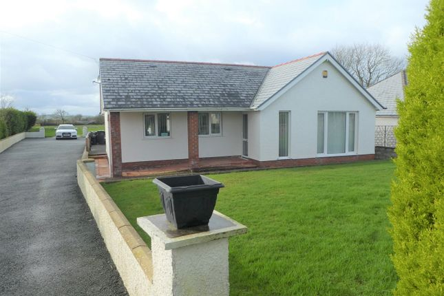 Thumbnail Detached bungalow for sale in Maenygroes, New Quay