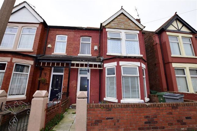 Thumbnail Semi-detached house for sale in Annesley Road, Wallasey, Merseyside