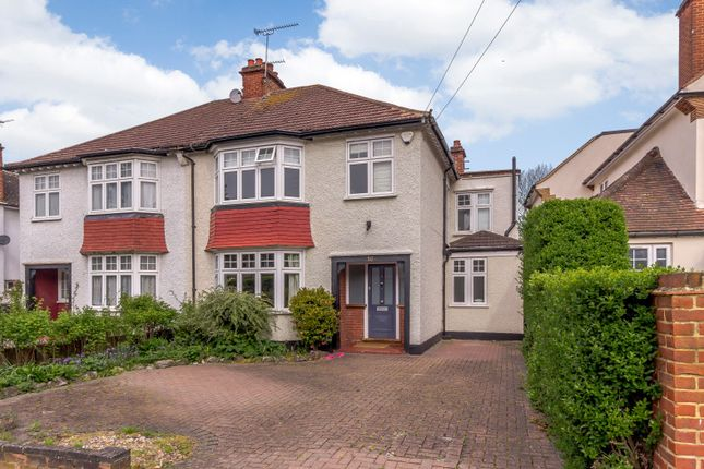 Thumbnail Semi-detached house to rent in Nelson Road, New Malden