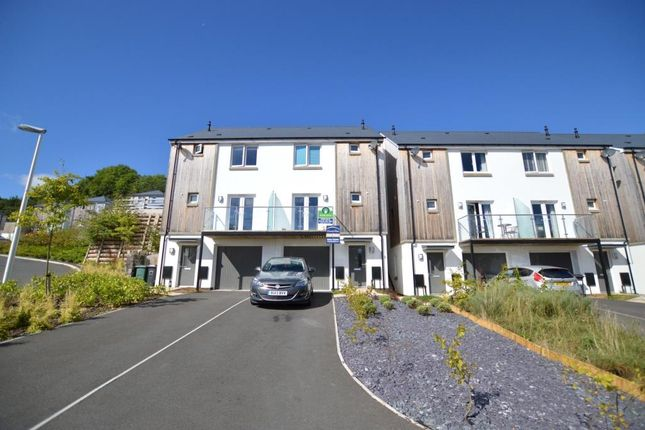Thumbnail Semi-detached house for sale in Gascon Close, Ogwell, Newton Abbot, Devon