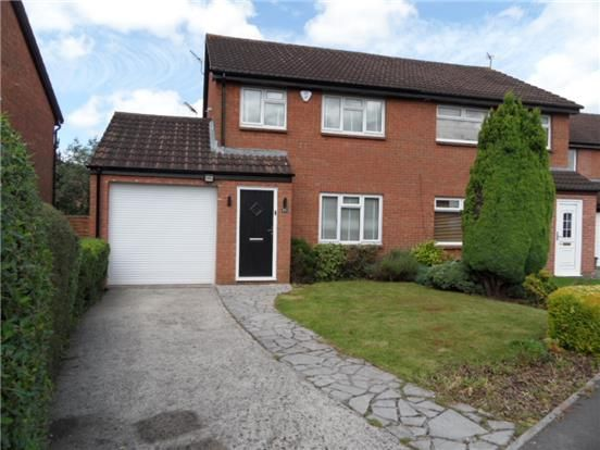 Thumbnail Semi-detached house to rent in Bader Close, Yate, Bristol