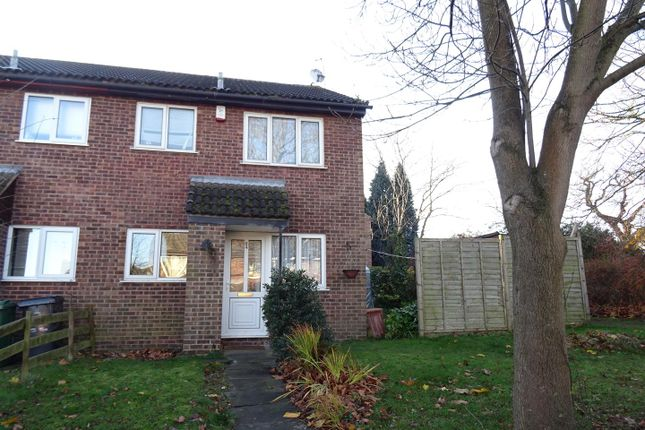 Thumbnail Town house for sale in Pennine Close, Shepshed, Loughborough
