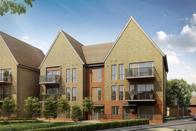 """Thumbnail Flat for sale in """"Scotney Apartments"""" at Repton Avenue, Ashford"""