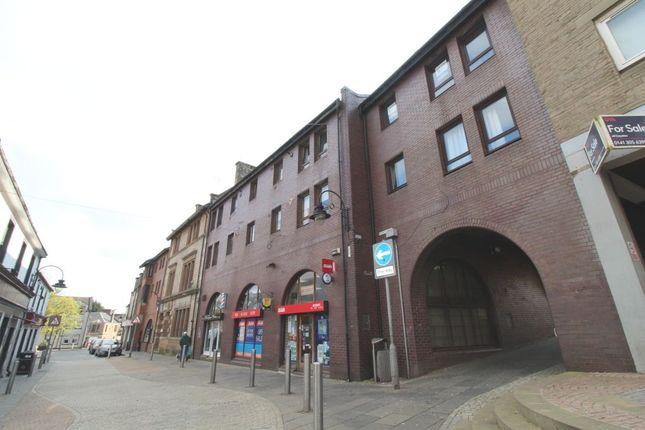 Thumbnail 1 bed flat to rent in Market Close, Kilsyth, North Lanarkshire