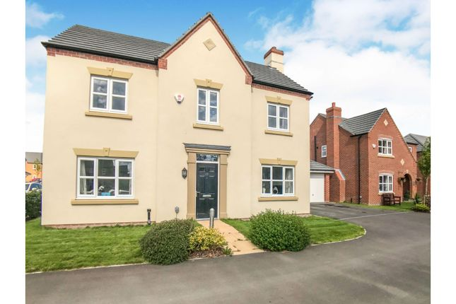 Thumbnail Detached house for sale in Lostock Drive, Middlewich