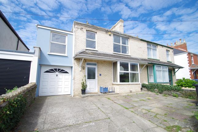 Semi-detached house for sale in Barton Lane, Braunton