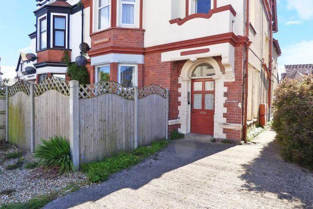 Thumbnail Flat for sale in Caroline Road, Llandudno, Gwynedd