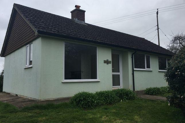 Thumbnail Bungalow to rent in Burcott, Wells