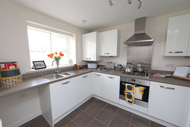 2 bed semi-detached house for sale in The Weaver, Shaw Close Off Bromley Road, Congleton, Staffordshire
