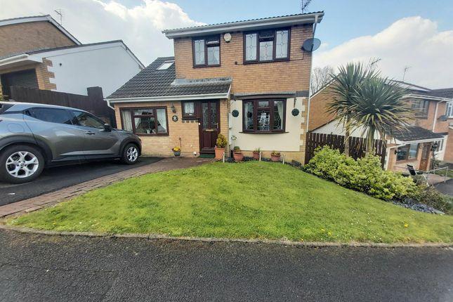 Thumbnail Detached house for sale in Parc Bryn Derwen, Llanharan, Pontyclun