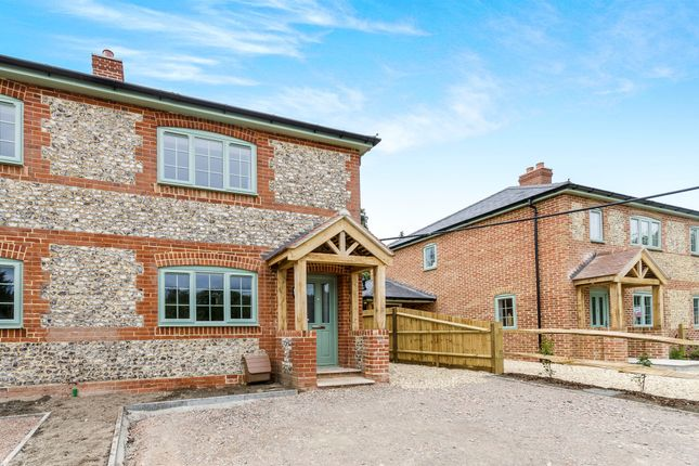 Thumbnail Semi-detached house for sale in Springvale Road, Headbourne Worthy, Winchester