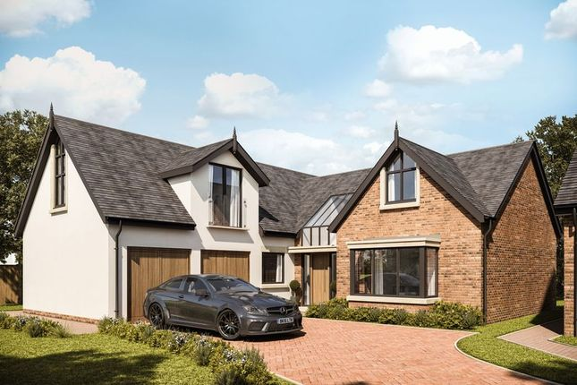 Thumbnail 4 bed detached house for sale in Plot 5, Gayton Chase, Strathearn Road, Lower Heswall
