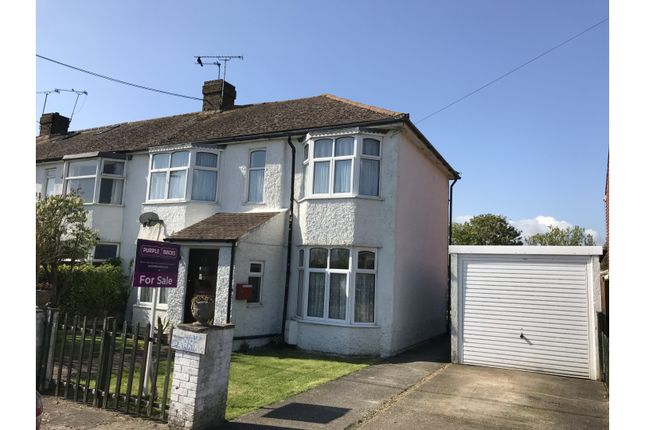 Thumbnail Semi-detached house for sale in Old Mead Road, Littlehampton