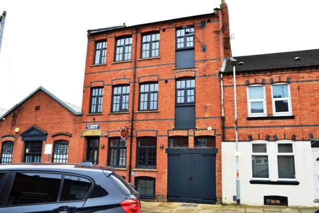 Front of Dunster Street, The Mounts, Northampton NN1