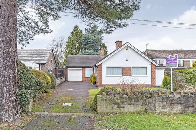 Thumbnail Detached bungalow for sale in Ashgate Road, Ashgate, Chesterfield