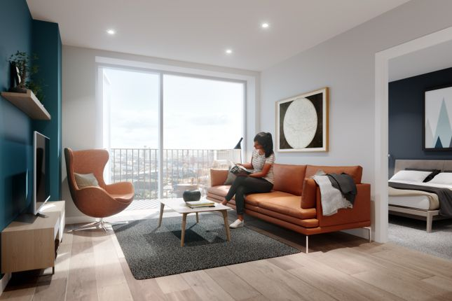 Thumbnail Flat for sale in Local Crescent, Oldfield Road, Salford
