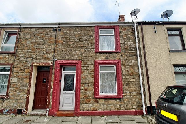 Thumbnail Terraced house for sale in York Terrace, Georgetown, Tredegar, Blaenau Gwent.