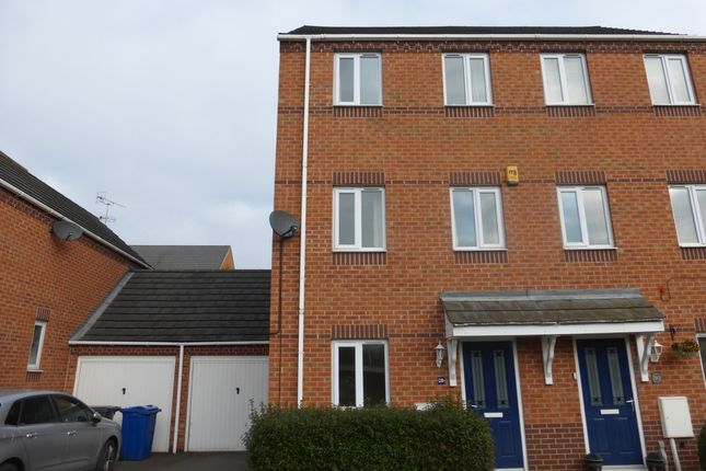 Thumbnail Town house to rent in Westminster Avenue, Sandiacre, Sandiacre