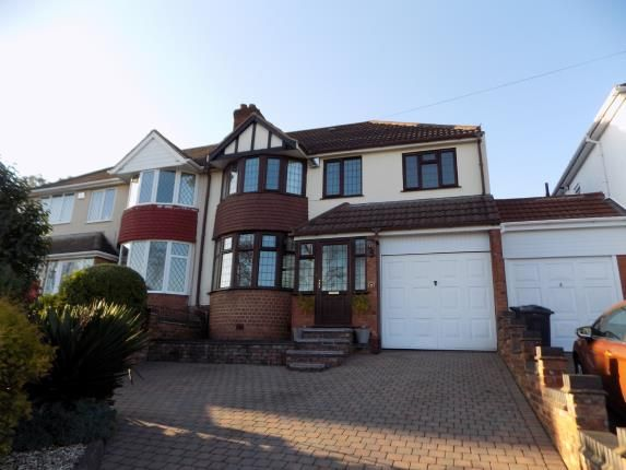 Thumbnail Semi-detached house for sale in Longmoor Road, Sutton Coldfield, West Midlands