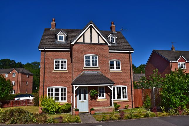 Thumbnail Detached house for sale in Williamson Drive, Nantwich