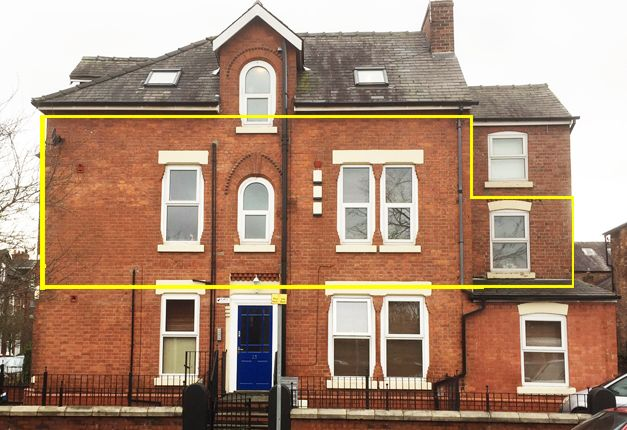 Thumbnail Flat to rent in 25 Albany Road, Manchester