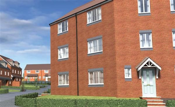 Thumbnail Flat for sale in Tannery Court, 116 Corporation Street, Walsall