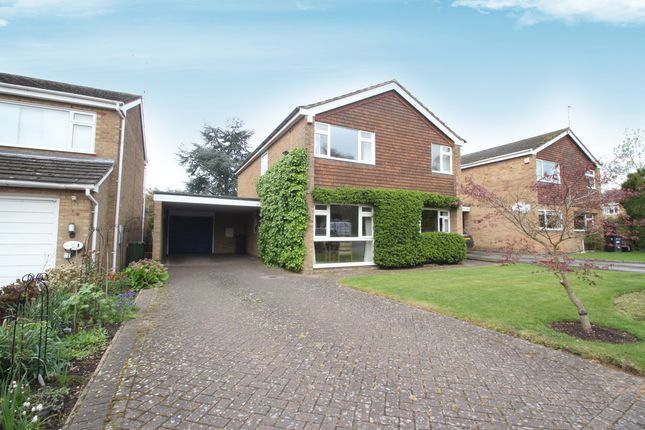 Thumbnail Detached house for sale in Dunchurch Close, Balsall Common, Coventry