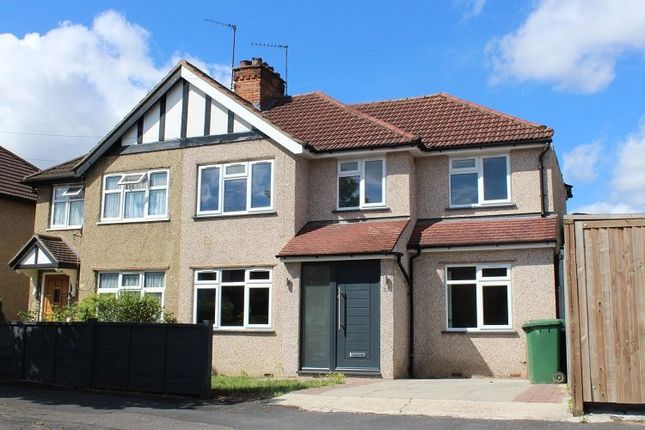 Thumbnail Semi-detached house to rent in Hitherwell Drive, Harrow