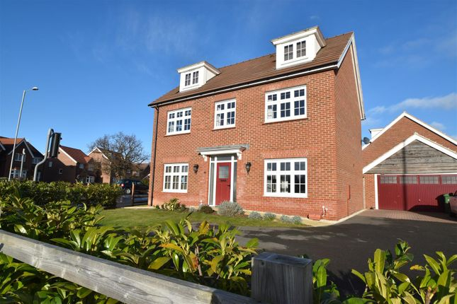 Thumbnail Detached house for sale in Fernywood Close, Worcester