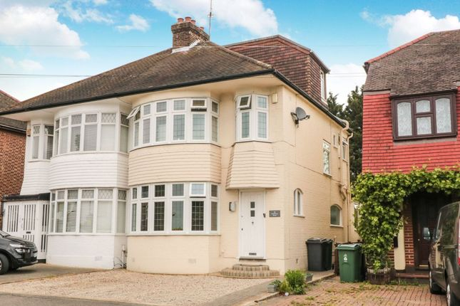 Thumbnail Semi-detached house for sale in Endlebury Road, Chingford